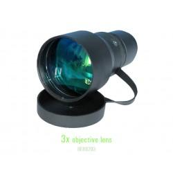3x Objective Lens