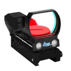 Sensor Reflex with an automatic reticle brightness control