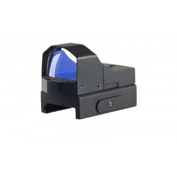 Rubicon Reflex sight with a front control button