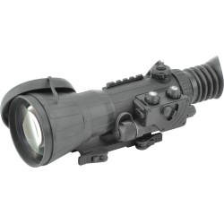 Armasight Vulcan 6X Ghost MG  Compact Professional 6x Night Vision Rifle Scope Gen 3 Ghost White Phosphor with Manual Gain